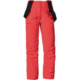 Schöffel Biarritz2 Pantalones de Esquí Niñas, rojo